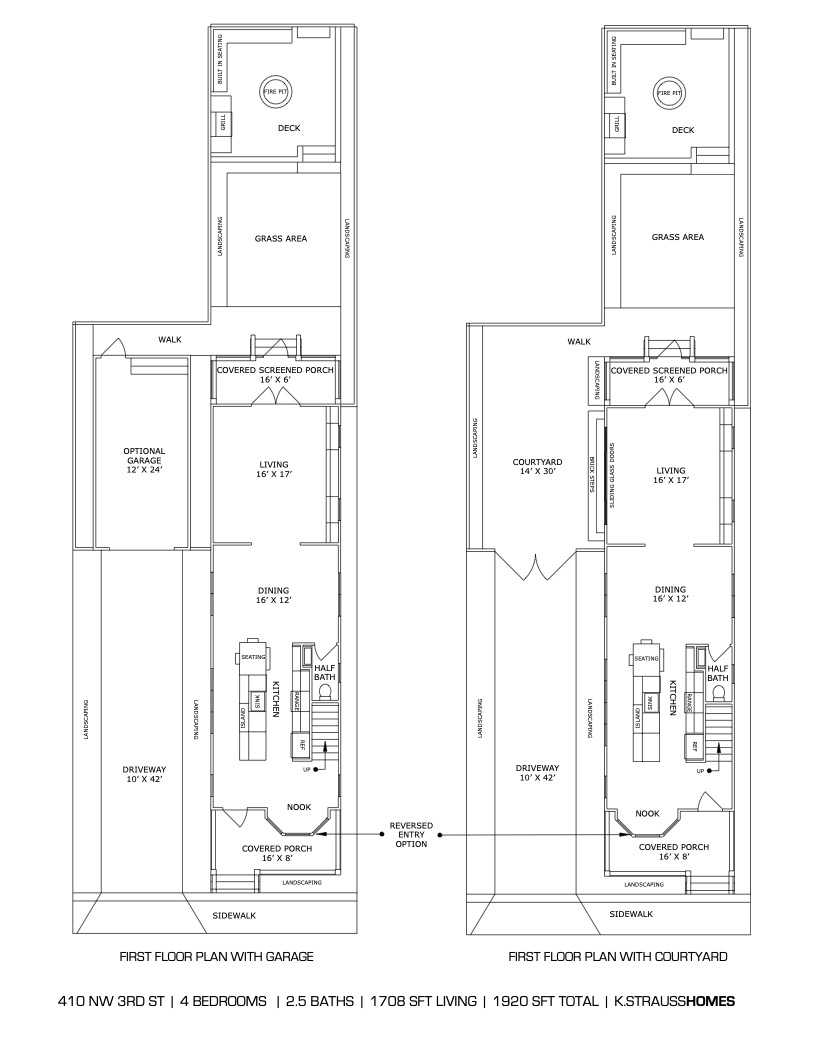 4 - Floorplan with Garage